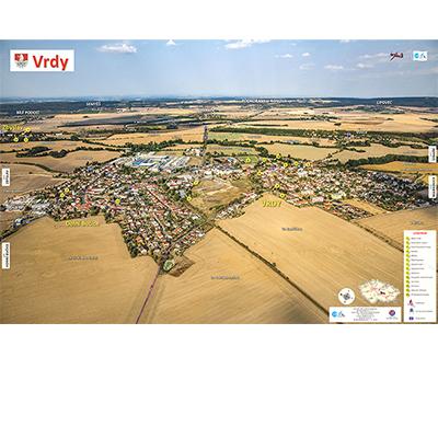 Fotomapa obce Vrdy