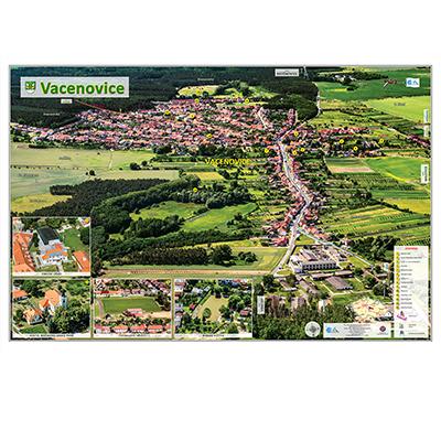 Fotomapa obce Vacenovice