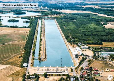 Vodácký a veslařský kanál Račice