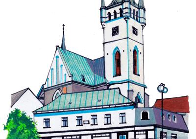 kostel-Humpolec