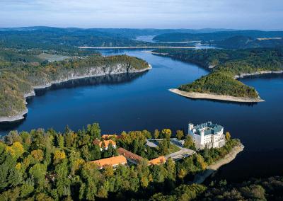 Orlík nad Vltavou - ukázka z knihy 101+101 leteckých pohledů na Česko a Slovensko