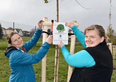 Organizátorky ze Sázíme stromy