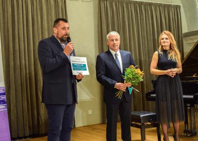 slavnostního vyhlášení soutěže O nejkrásnější knihu Vysočiny