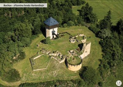 Zřícenina hradu Hartenštejn