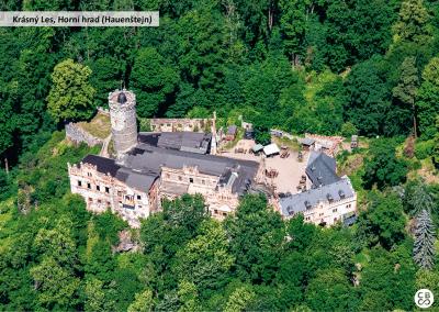 Krásný les, Horní hrad