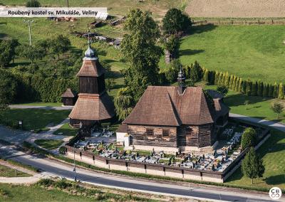 Kostel ve Velinách