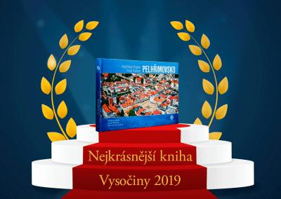 Pelhřimovsko z nebe - Nejkrásnější kniha Vysočiny 2019