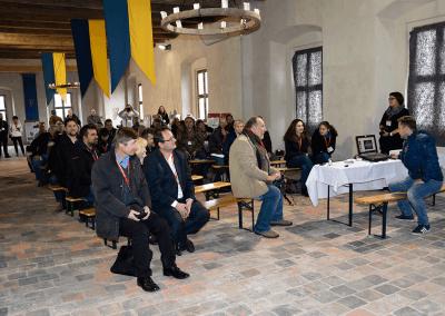 Konference Od hradu ke hradu - hrad Kurovice