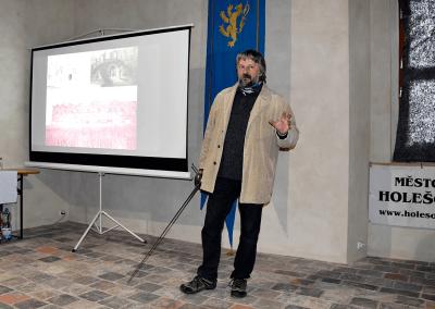 Radim Vrla, památkář NPÚ, ÚOP v Kroměříži
