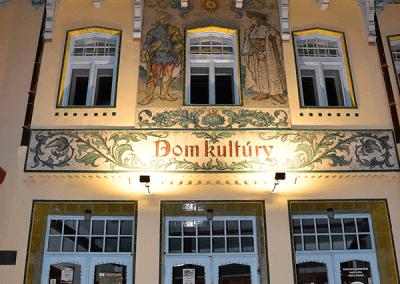 Dům kultury od Jurkoviče
