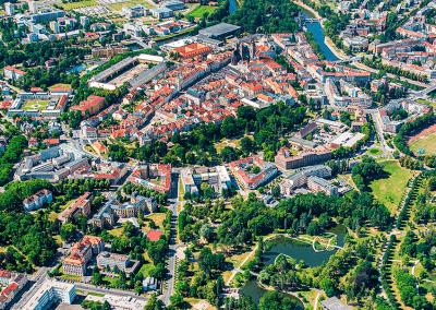 Hradec Králové - ukázka z připravované knihy leteckých fotografií KRÁLOVÉHRADECKO Z NEBE