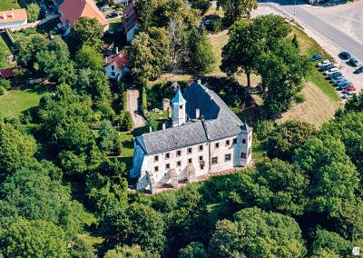 Zámek Přerov nad Labem - ukázka z knihy Nymbursko z nebe