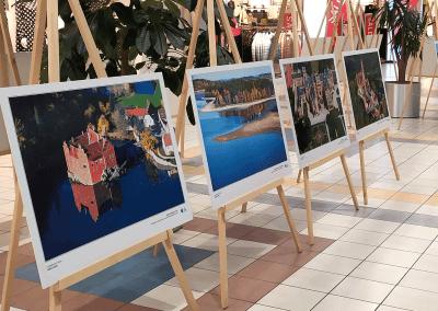 Výstava leteckých fotografií v Karlových Varech
