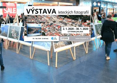 Výstava leteckých fotografií v Jihlavě