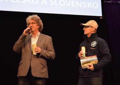 křest knihy 101+101 leteckých pohledů na Česko a Slovensko