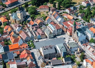 náměstí ve Frýdlantě
