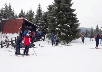 Jizerky na běžkách - Promenáda