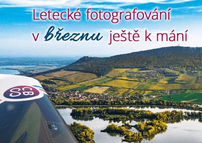 Uzávěrka objednávek leteckého fotografování 31. 3. 2020