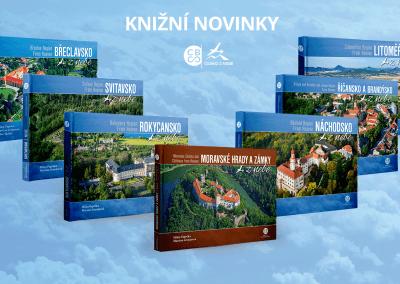 Knižní novinky z edice Česko z nebe