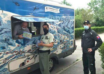 CBS předává knihy v karanténních centrech V Trnavském a Bratislavském kraji