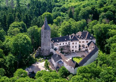 Doupě - hrad Roštejn
