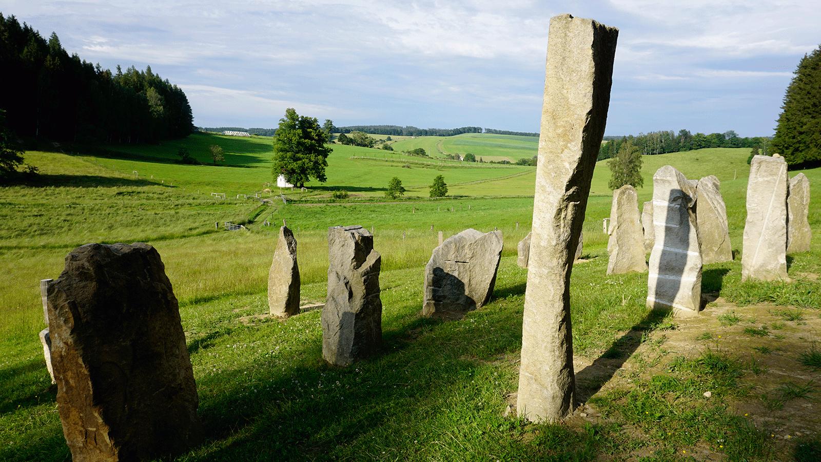 Zdoňovské menhiry