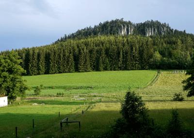 Křížový vrch s kaplí sv. Jana Mepomuckého