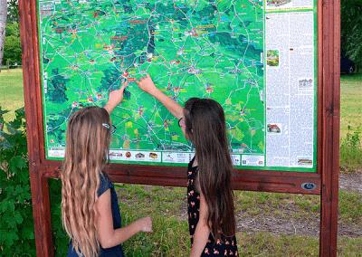 Malovaná mapa - Taxis Bohemia