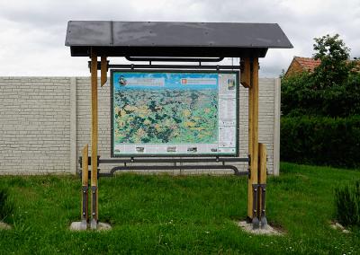 Malovaná mapa - Dobelice