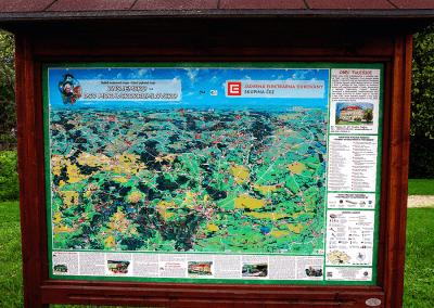 Malovaná mapa - Tulešice
