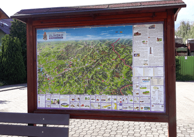 Malovaná mapa - Všemina