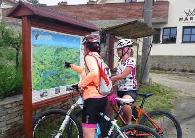 Malovaná mapa - Břeclavsko