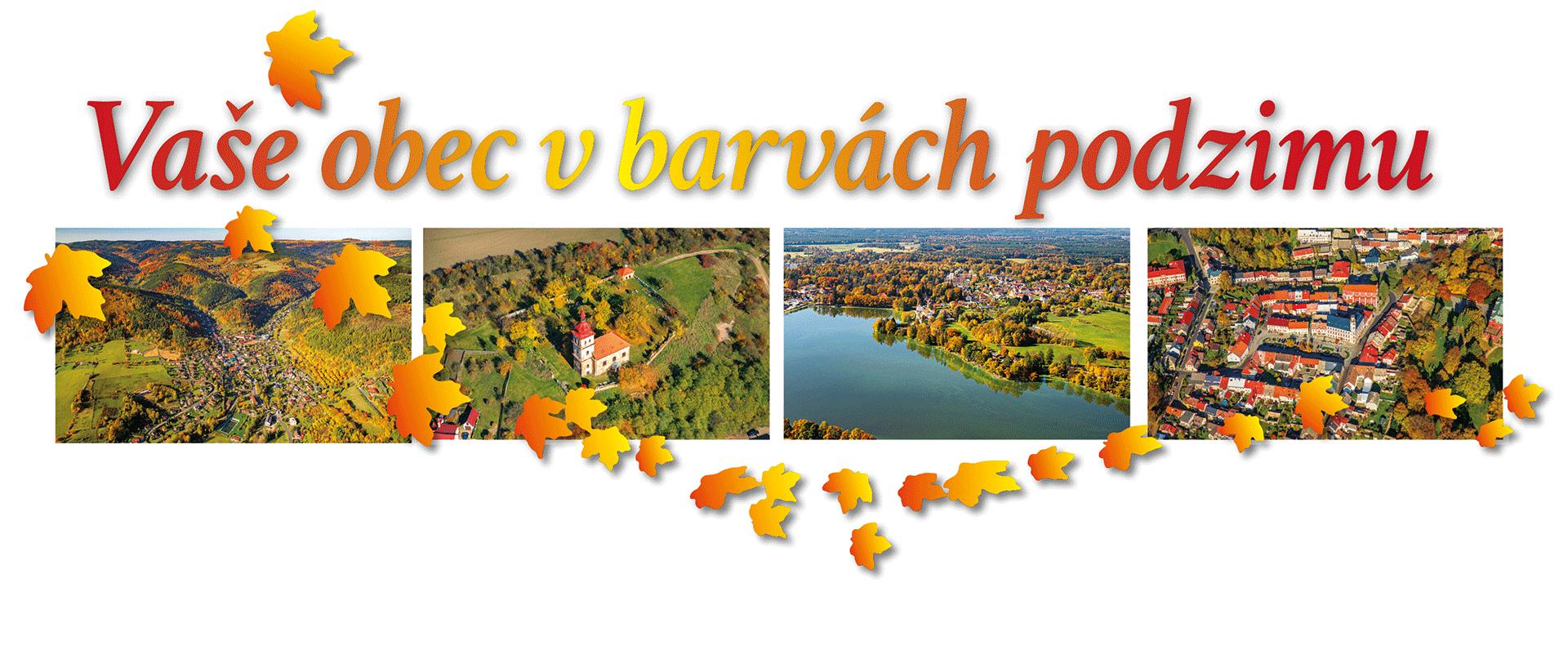 Podzimní letecké snímkování