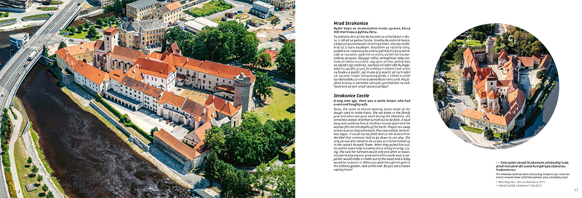 Ukázka z knihy Strakonicko z nebe