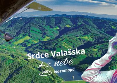 360° videomapa Srdce Valašska
