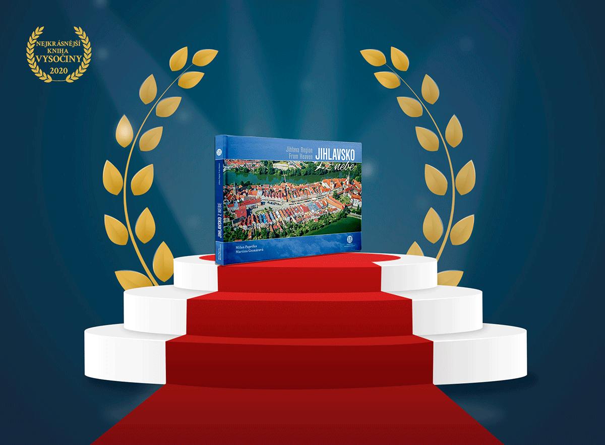 Nekrásnější kniha Vysočiny 2020 - Jihlavsko z nebe