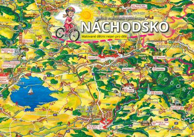 Připravujeme malovanou cyklomapu Náchodsko dětem