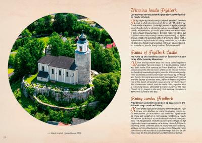 Frýdberk - ukázka z knihy Slezské hrady a zámky z nebe