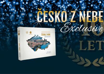 Luxusní kniha Česko z nebe Exclusive právě vychází
