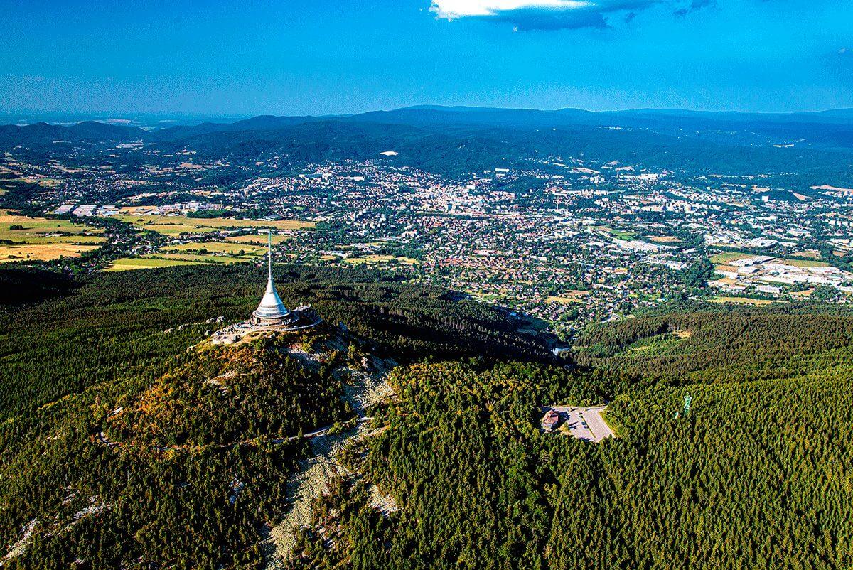 Liberec a Ještěd